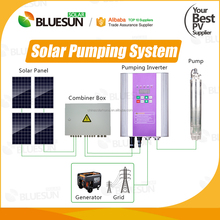 Manufacturer 150w solar water pump price, 12v dc submersible solar pump