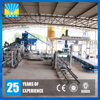 Zenith fully automatic concrete hollow brick block making plant china supplier