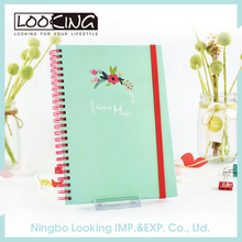 LOOKING Spiral Notebook With Dividers