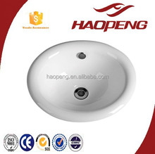 Ceramic Sanitary Ware Bathroom Wash Basin Sink Parts