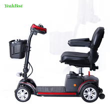 Best Seller Adult Outdoor 4x4 Lightweight Folding Enclosed Mobility Scooter for Medical Use