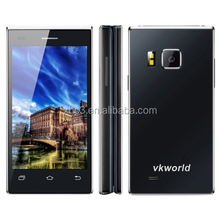 Hot selling Android 5.1 MTK6580 Quad Core 1.3GHZ smartphone newest design VKworld T2 mobile phone