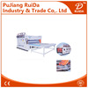 [RD-SC1200-2600-2]Chain feeding 2 color corrugated carton flexo printing die cutting machine