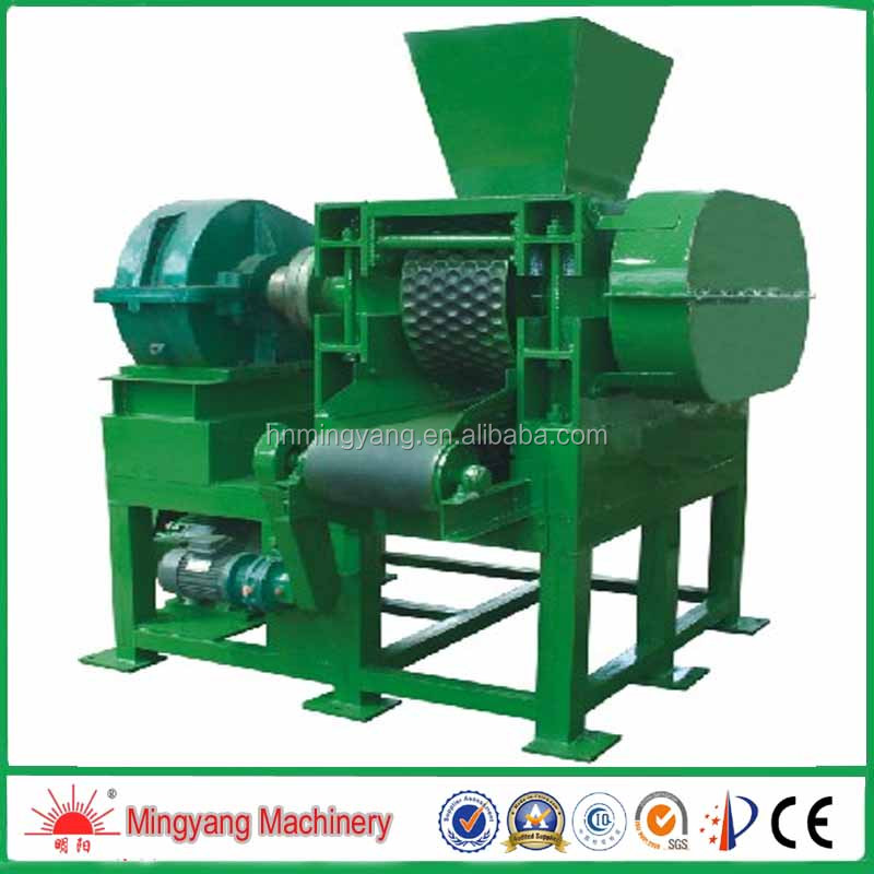 5% discount high yield 11kw coal ball briquette pressing machine with four roller