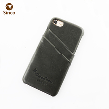 Universal luxo pu leather mobile phone case back cover with rubberized hard pc case