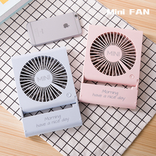 2017 High Quality Portable Custom Logo Rechargeable Mini Usb Battery Operated Fan