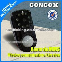 gsm camera mms alarm gm01 2012 battery operated wireless Motion sensor security camera