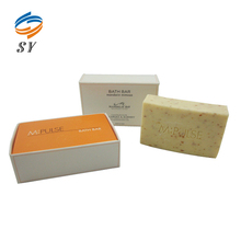 Cheap elegant 60g fruit fragrance natural bath soap of rectangle