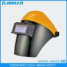 Jinhan Brand Good Quality Flip Up Design Custom Auto Darkening Welding Helmet