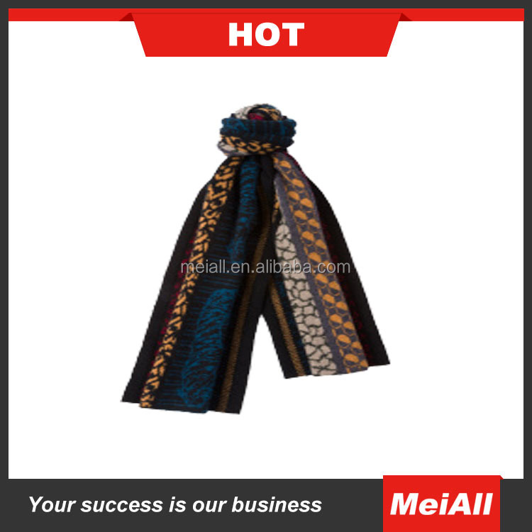 2016 multicolor wholesale Cheap knit winter scarf