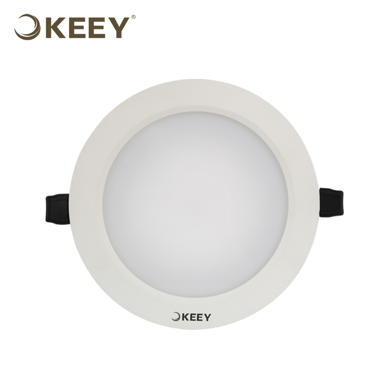 KEEY Led Ceiling Panel Light Dimmable White Led Suspended Ceiling Light Panel 9W 4000K QYS1-L622