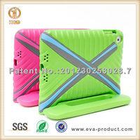Special X-shaped design case for mini ipad case shockproof kids safe foam rugged case cover for ipadmini