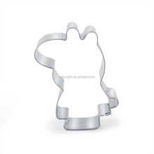RF-DW45 sister pig cookie cutter custom rubber stamp cookie cutter set easter electric cake decorating tool laser logo OEM