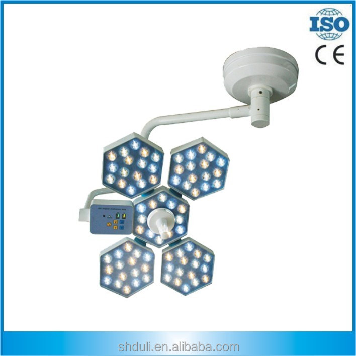 DL-LED05-1 dental clinics ceiling type dental operating light