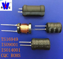 1mH/5mH Radial leaded ferrite drum core power inductor