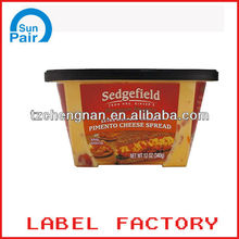 In-mould labels for plastic food storage container