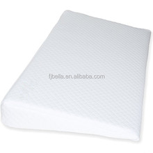 Waterproof Layer & Cotton Removable Cover memory foam baby Crib Wedge for a health sleeping