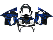 Black Blue Flame Motorcycle Panel for Honda CBR F4I 2001 2002 2003 Fairing CBR600RR