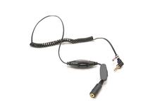 So Easy Rider 3.5mm Male to Female M/F Plug Jack Stereo Headphone Audio Coiled Extension Cable