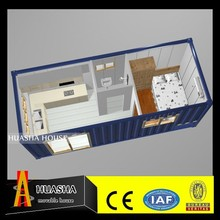 flat pack prefabricated container houses with kitchen bathroom for sale