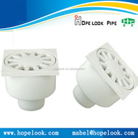 Single outlet 50mm drainage channel plastic floor drain