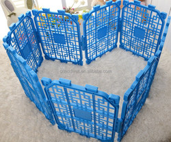 plastic foldable pet fence, dog fence for your DIY