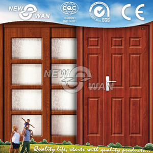 Residential Mother Son MDF Wooden Doors Prices