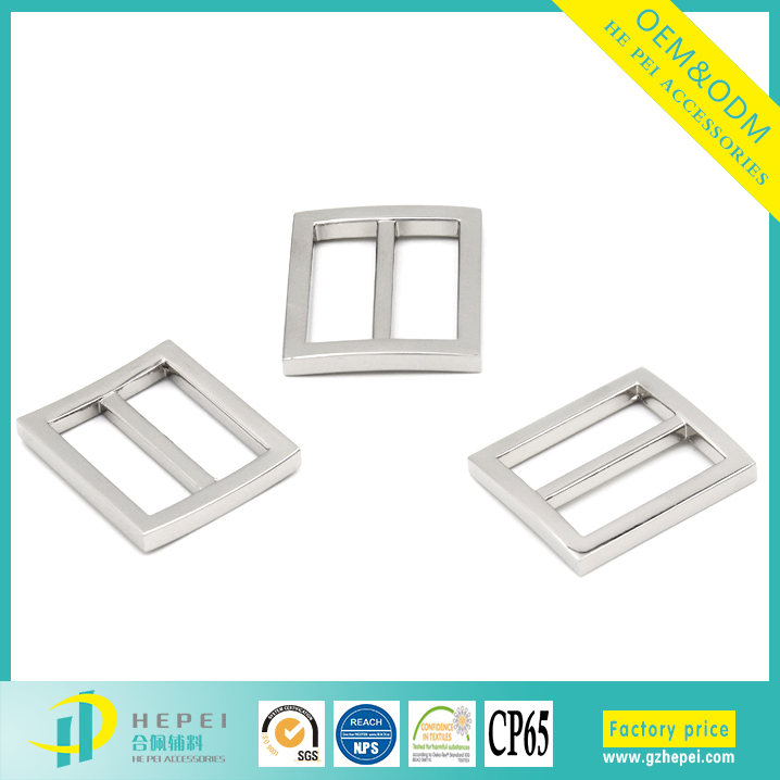 Heavy Duty Hard Metal Tri-glide Slides Belt Buckles For Bag Parts