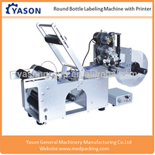 Semi-auto Round Bottle Labelling Machine Label Sticking Applicator