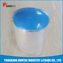High quality plastic face shield with safety helmet new product