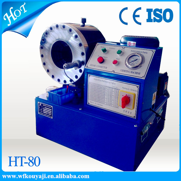 HT-120 China Alibaba express hydraulic hose crimping machine for air suspension