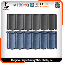 Low price stone coated steel roofing tile, hot sale tile in mexico roofing tile