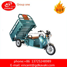 KAVAKI 900 W Cargo Electric Tricycle suppler with Pedal Cargo Tricycle For Sale