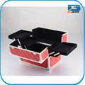 aluminum cosmetic case, Beauty makeup case with trays