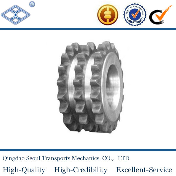 ANSI standard stainless steel triplex wheel and sprocket 160
