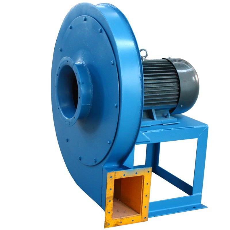 High Pressure Centrifugal Fan : A high pressure fluidized bed boiler centrifugal fan