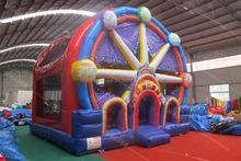Inflatable Ferris wheel bouncy house
