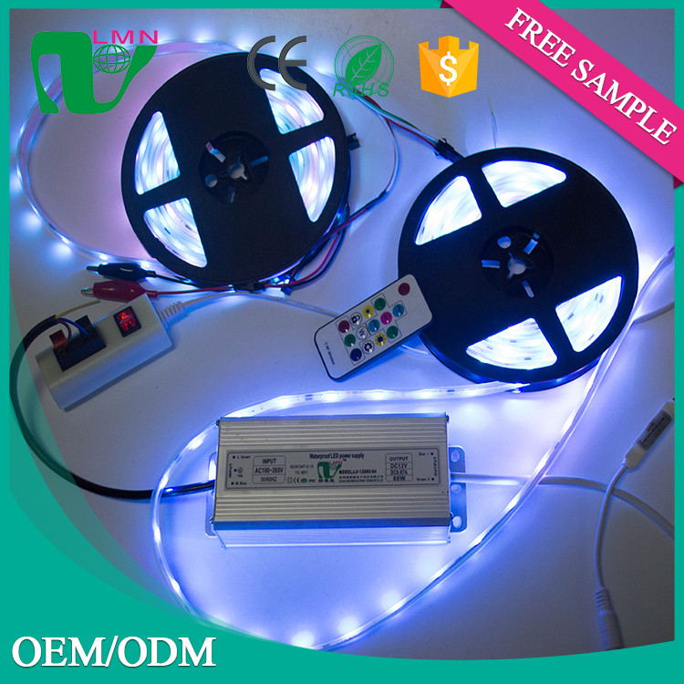 Colorful 2835 12v 24v waterproof led grow light strip