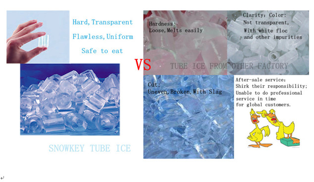 China top1 ice tube machine price hot sale ice tube machine