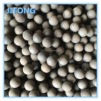 Even hardness forged grinding steel balls