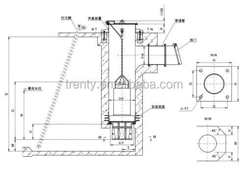 Axial Flow Pump Design : Qz d submersible vertical axial flow pump buy