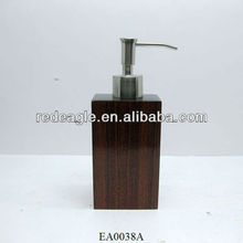 EA0038A imitated wood soap dispenser