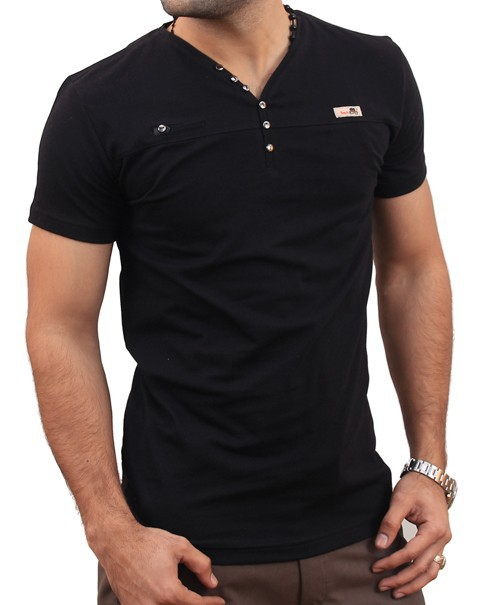 Fashion V neck T-shirt
