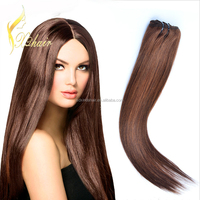Aliexpress wholesale price 100 virgin Indian peruvian remy human double drawn body wave hair weft weave bulk bundle extension