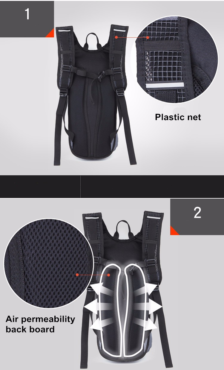 2L Bladder Bicycle Hydration Backpack Pack Drinking Water Bags