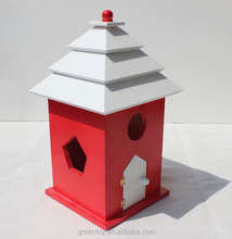 wood DIY carriers wooden birds house pet cages