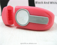 silicone usb flash disk bracelet cover with custom logo