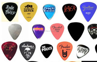 2016 Hot Selling Guitar Pick Colorful Customized Personalized Guitar Picks