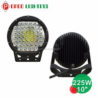 2015 new products 12v led spot light 225w, 10 inch 225w car led spot light
