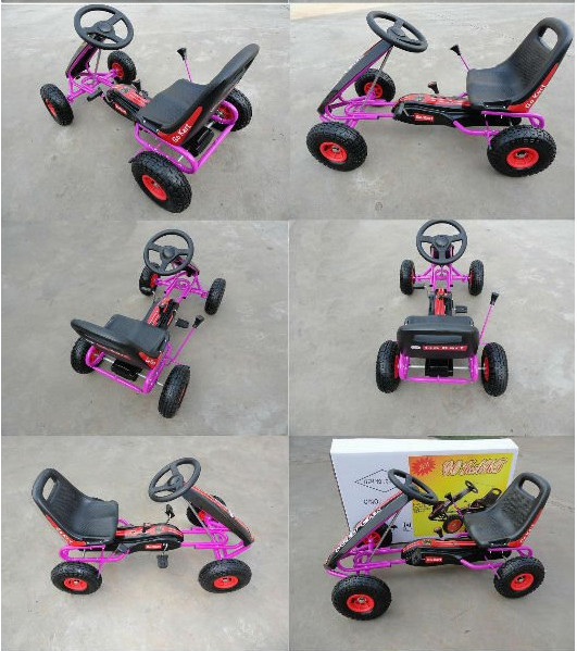 2017 new kid toys easy to control cooler go kart Made in China